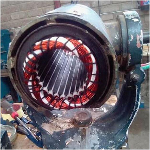ремонт однофазного двигателя
